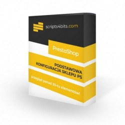 Wykonanie podstawowej konfiguracji i checklisty na sklepie PrestaShop