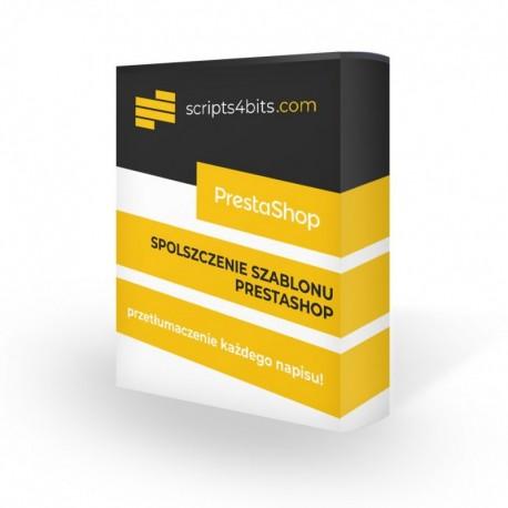 Spolszczenie szablonu PrestaShop
