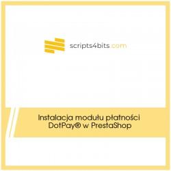 Instalacja modułu płatności DotPay® w PrestaShop